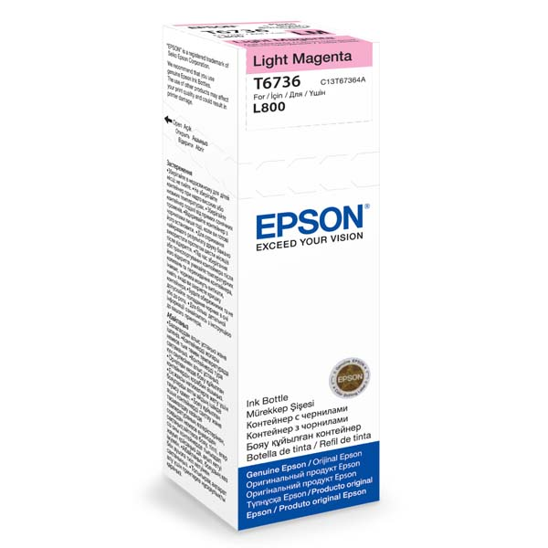 Epson T6736 Light Magenta ink 70ml pro L800 C13T67364A
