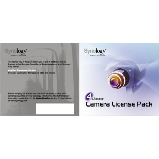 Synology DEVICE LICENSE (X 4) - kamerová licence