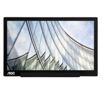 "16"" LED AOC I1601FWUX - FHD, IPS, USB-C"