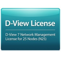 D-Link D-View 7 License for 25 Nodes